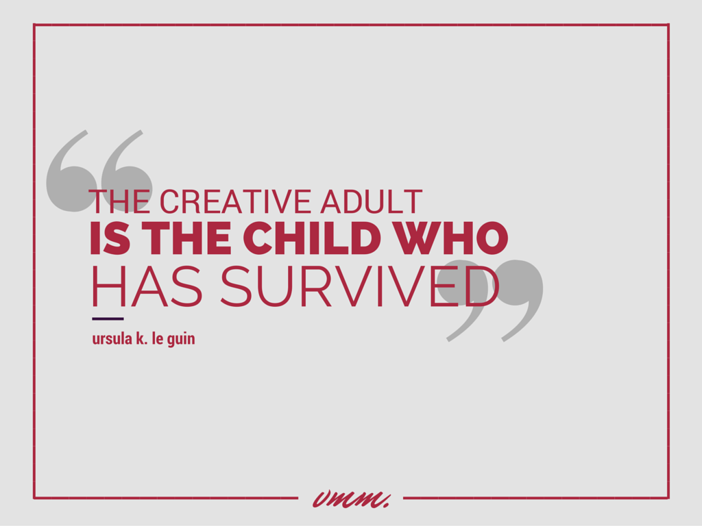 The creative adult child survived (4)