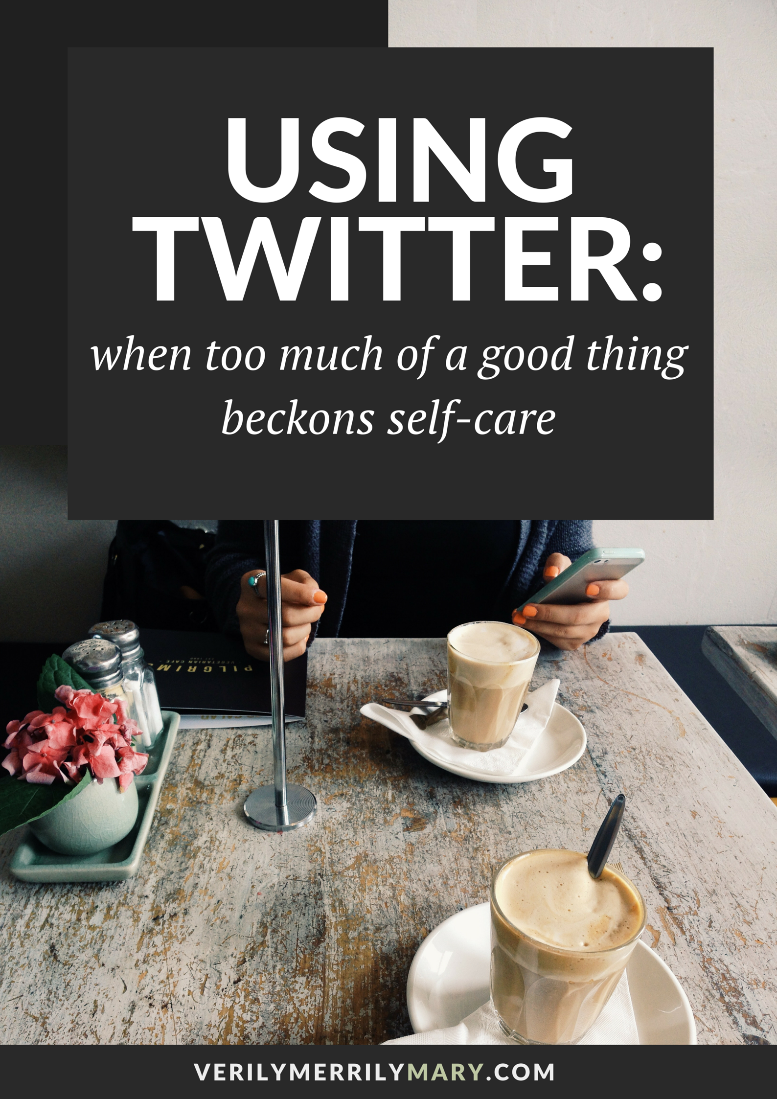 Twitter is an awesome kind of social media. But there are times when it can be overwhelming. Click through to read the importance of self-care when using this and other forms of social media.
