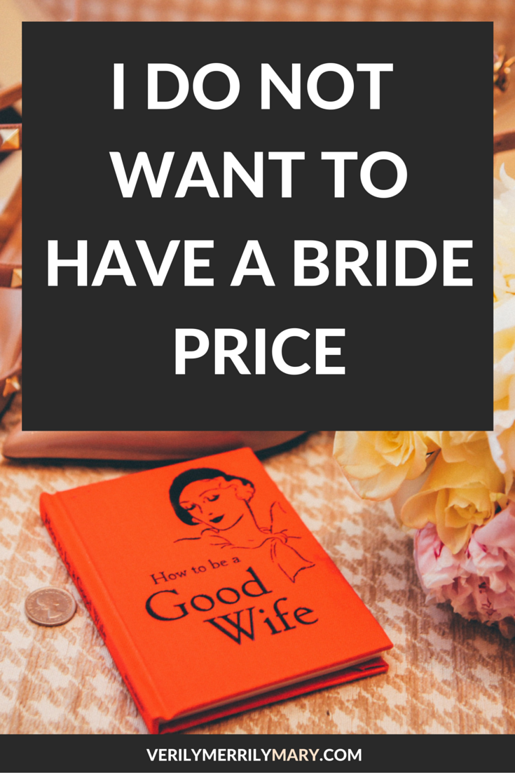 One African feminist believes that participating in the bride price custom is dehumanizing to women. Click through to read her take on the matter.