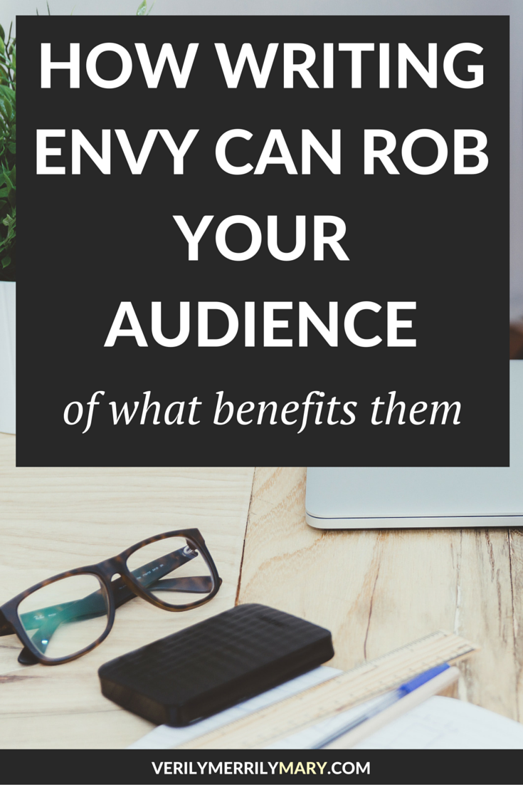 Writing envy goes beyond the writer who looks at another writer with disdain. Writing envy can come at the cost of something that belongs to their audience. Click through for an honest read about how writing envy hurts ourselves and our audience.
